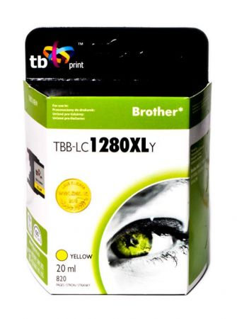 Tusz do Brother LC1280XL TBB-LC1280XLY YE