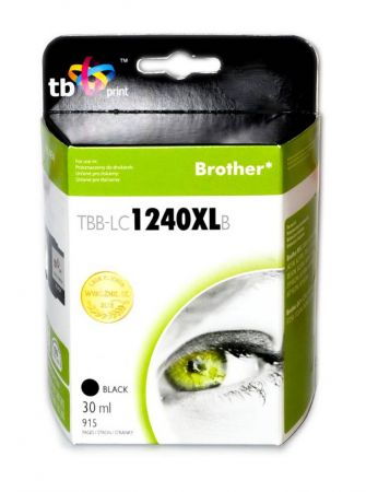 Tusz do Brother MFC-J6510DW LC1240XL TBB-LC1240XLB BK