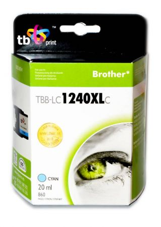 Tusz do Brother LC1240XL TBB-LC1240XLC CY