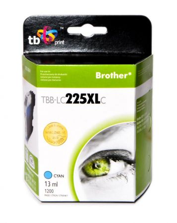 Tusz do Brother LC225XL TBB-LC225XLC CY