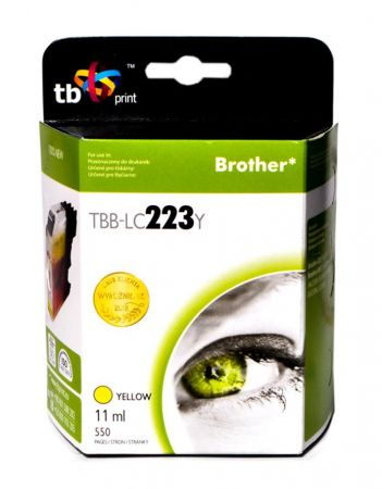 Tusz do Brother LC223 TBB-LC223Y YE