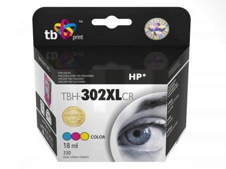 Tusz do HP DJ 1110/2130 Color refabrykowanyTBH-302XLCR