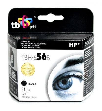 Tusz do HP Nr 56 - C6656A TBH-656B BK ref.
