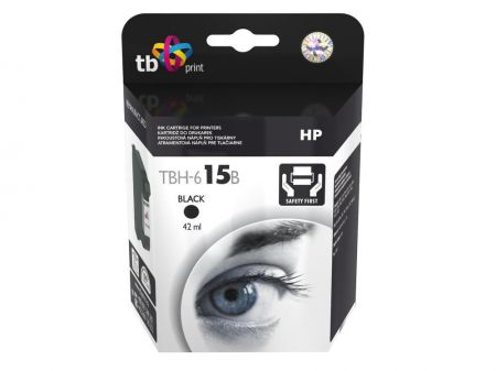 Tusz do HP Nr 15 - C6615DE TBH-615B BK ref.