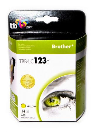 Tusz do Brother LC123 TBB-LC123Y YE