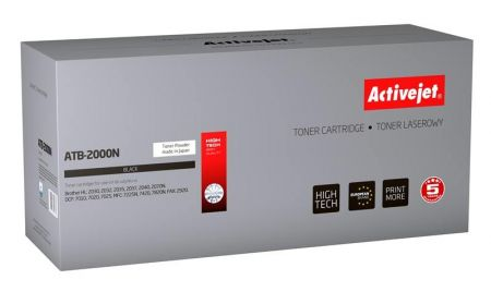 Toner Activejet ATB-2000N (do drukarki Brother  zamiennik TN2000/TN2005 supreme 2500str. czarny)