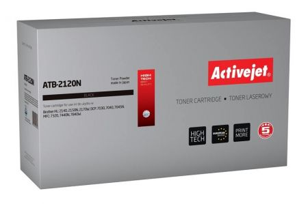 Toner Activejet ATB-2120N (do drukarki Brother  zamiennik TN2120 supreme 2600str. czarny)