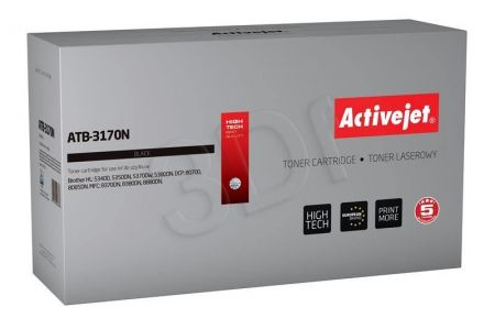 Toner Activejet ATB-3170N (do drukarki Brother  zamiennik TN3060/TN3170/TN6600 supreme 7000str. czarny)