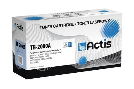 Toner Actis TB-2000A (Brother  TN2000/TN2005) standard 2500str. czarny