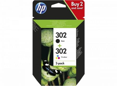 Combo Pack Ink 302BK+CL X4D37AE