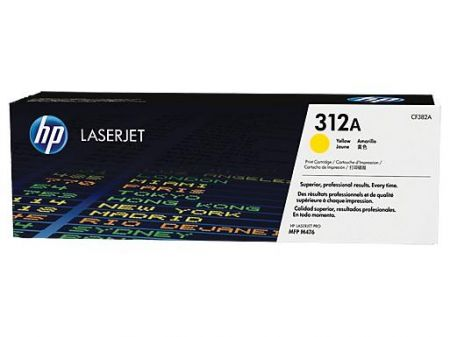 Toner 312A Yellow 2.7k CF382A