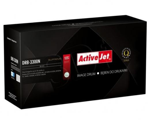 Bęben Activejet DRB-3300N (do drukarki Brother, zamiennik DR-3300 supreme 30000str. czarny)